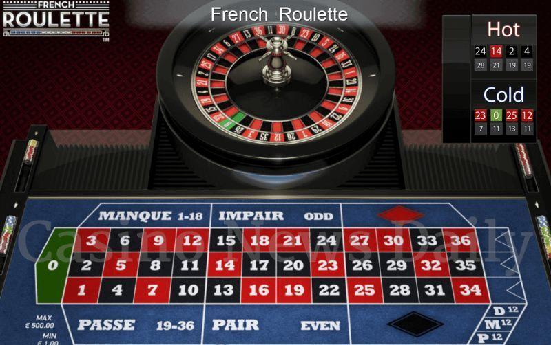 Bàn Roulette kiểu Pháp