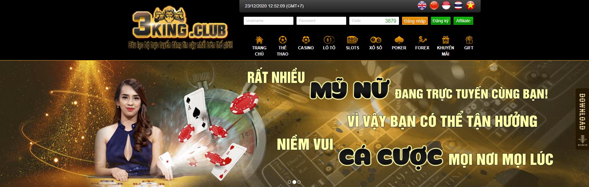 NHÀ CÁI 3KING CLUB